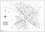 MAP OF 1888 TAMWORTH STREET LIGHTS, 1890/1988